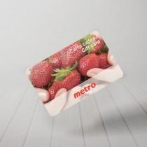 Carte cadeau Metro